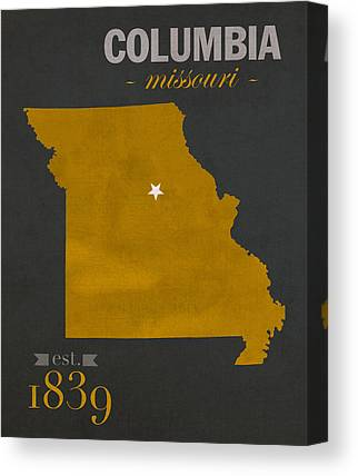 University Of Missouri Canvas Prints