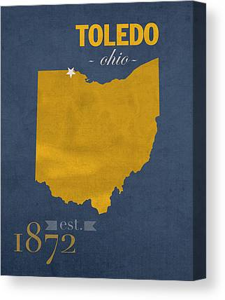 University Of Toledo Canvas Prints