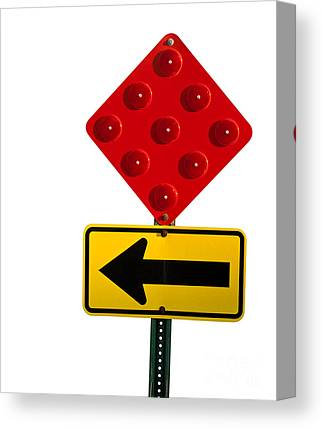 Directional Signage Canvas Prints