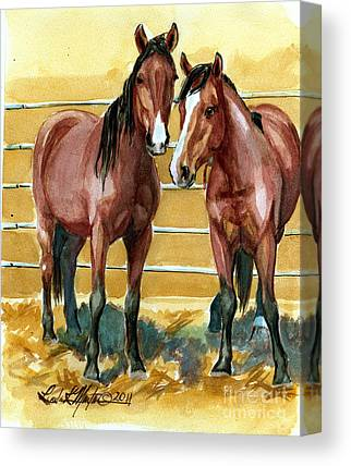 Mustangadaychallenge Canvas Prints