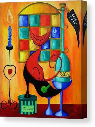Pintores Uruguayos Canvas Prints