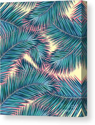 Summer Flowers Digital Art Canvas Prints