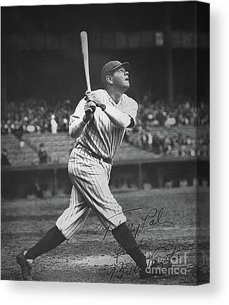 Babe Ruth Canvas Prints