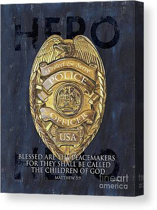 Police Cruiser Canvas Prints