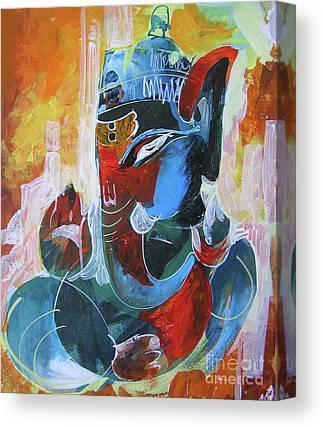 Ganpati Canvas Prints