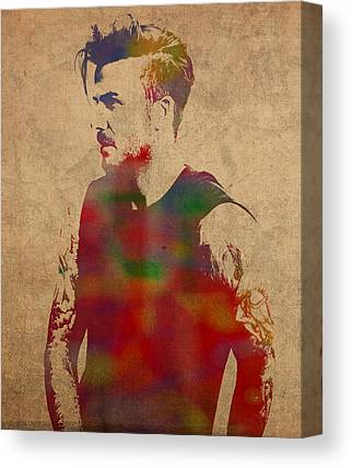 David Beckham Canvas Prints