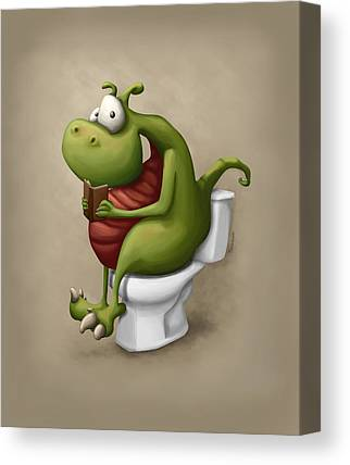 Toilet Canvas Prints