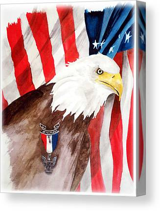 Eagle Scout Canvas Prints