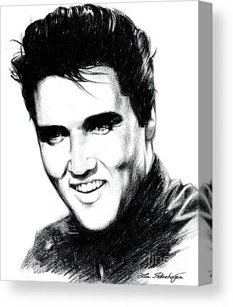 Elvis Canvas Prints