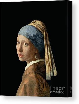 Young Woman Canvas Prints
