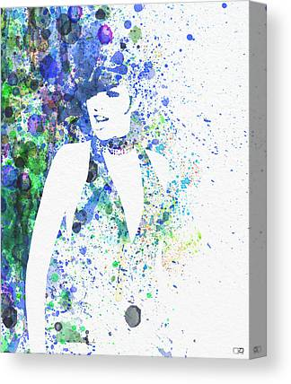 Leading Actress Canvas Prints