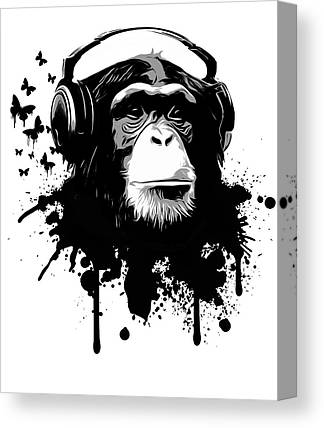 Headphones Canvas Prints