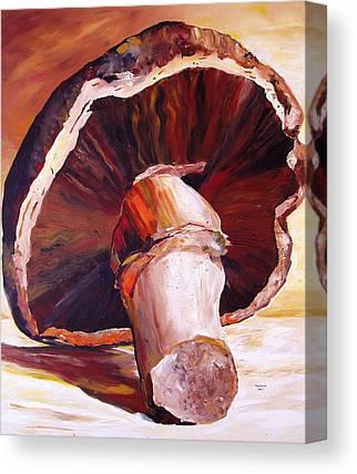 Mushroom Canvas Prints