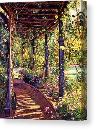 Gardenscape Canvas Prints