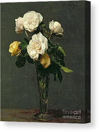 Floral Arrangement Canvas Prints