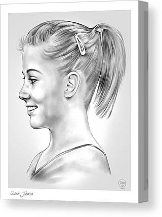 Shawn Canvas Prints
