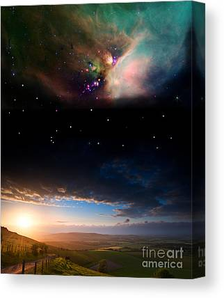 Celestial Globe Canvas Prints