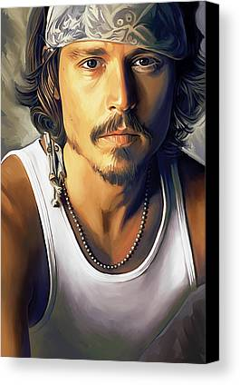 Johnny Depp Canvas Prints