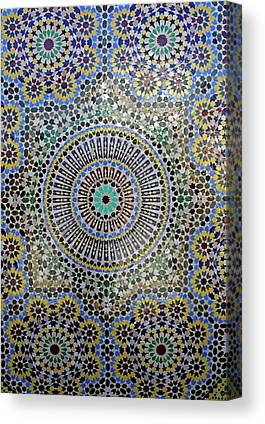 Africa Ceramics Canvas Prints