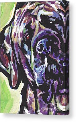 English Mastiff Canvas Prints