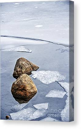 Ice Floes Canvas Prints