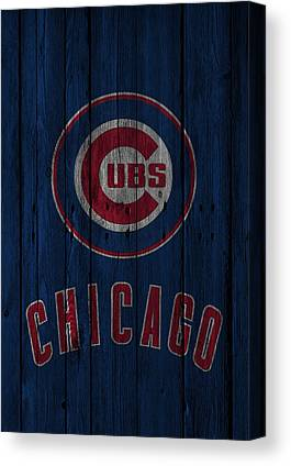 Chicago Cubs Stadium Canvas Prints