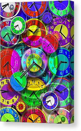 Time Related Canvas Prints