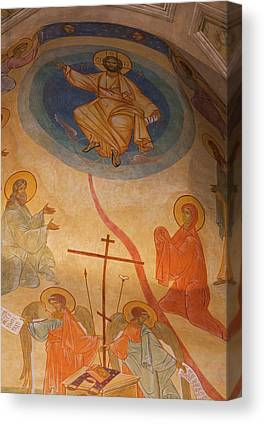 Greek Icon Canvas Prints