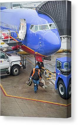 Southwest Airlines Canvas Prints