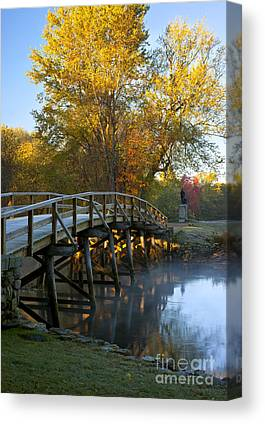 Old North Bridge Canvas Prints