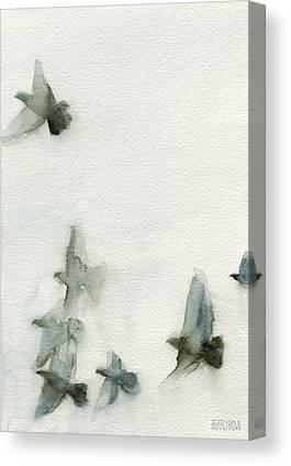 Flying Birds Canvas Prints