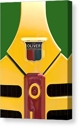 Oliver Tractor Canvas Prints