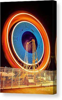 Spinning Wheel Canvas Prints