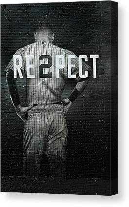Baseball Player Canvas Prints