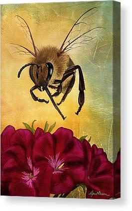 Bees Canvas Prints
