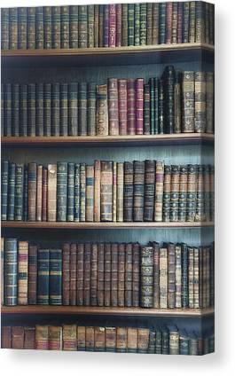 Bookcase Canvas Prints