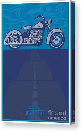 Choppers Canvas Prints