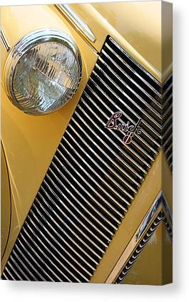Buick Grill Canvas Prints