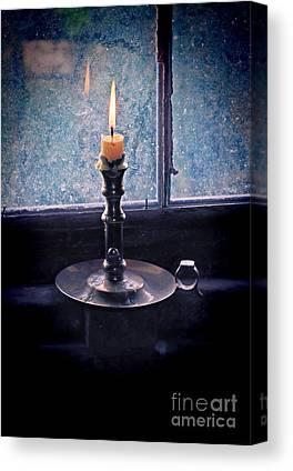 Flame Light Canvas Prints