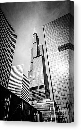 Office Tower Canvas Prints