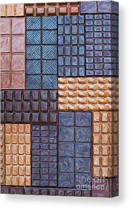 Bar Of Chocolate Canvas Prints