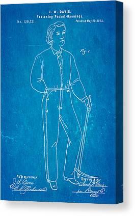 Levi S Canvas Prints