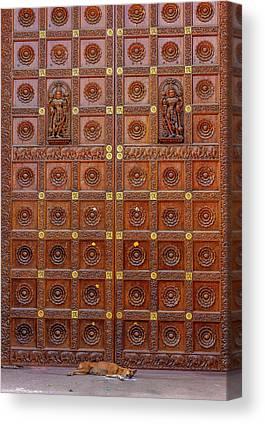 Ashram Canvas Prints