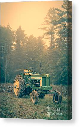 Old Farm Equipment Canvas Prints