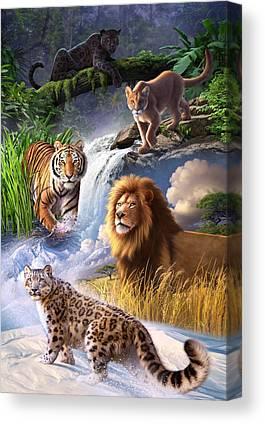 Jaguar Canvas Prints