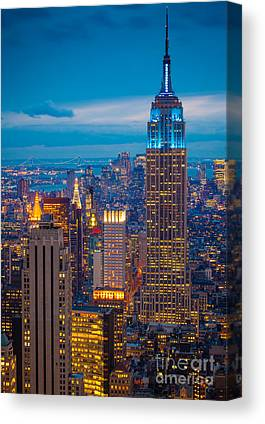 Downtown Canvas Prints