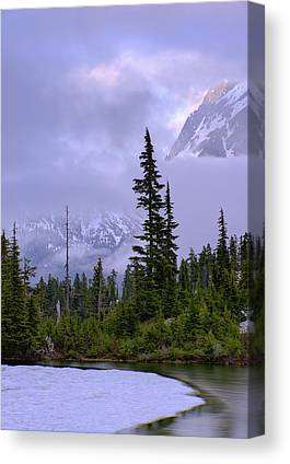 North Cascades Canvas Prints
