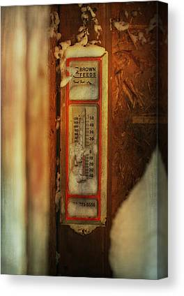 Thermometer Canvas Prints