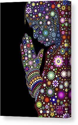 Faith Digital Art Canvas Prints