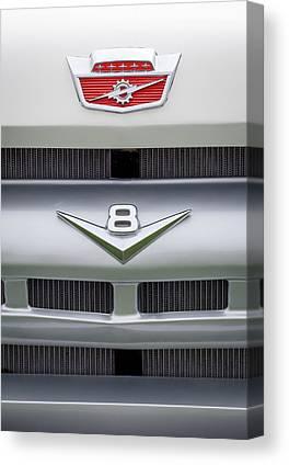 Ford Custom V8 Canvas Prints